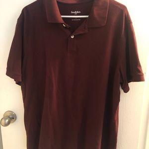 Men's Burgundy Shirt